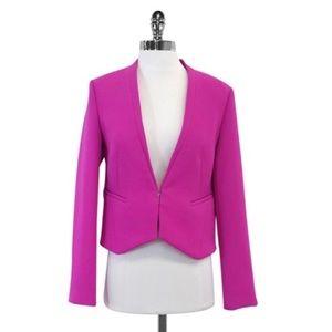 Like new DVF pink crepe blazer